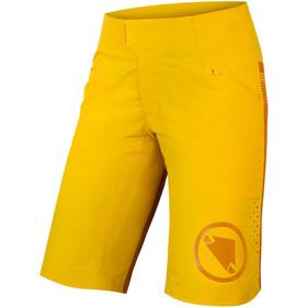 Endura SingleTrack Lite Spodnie krótkie Kobiety, żółty
